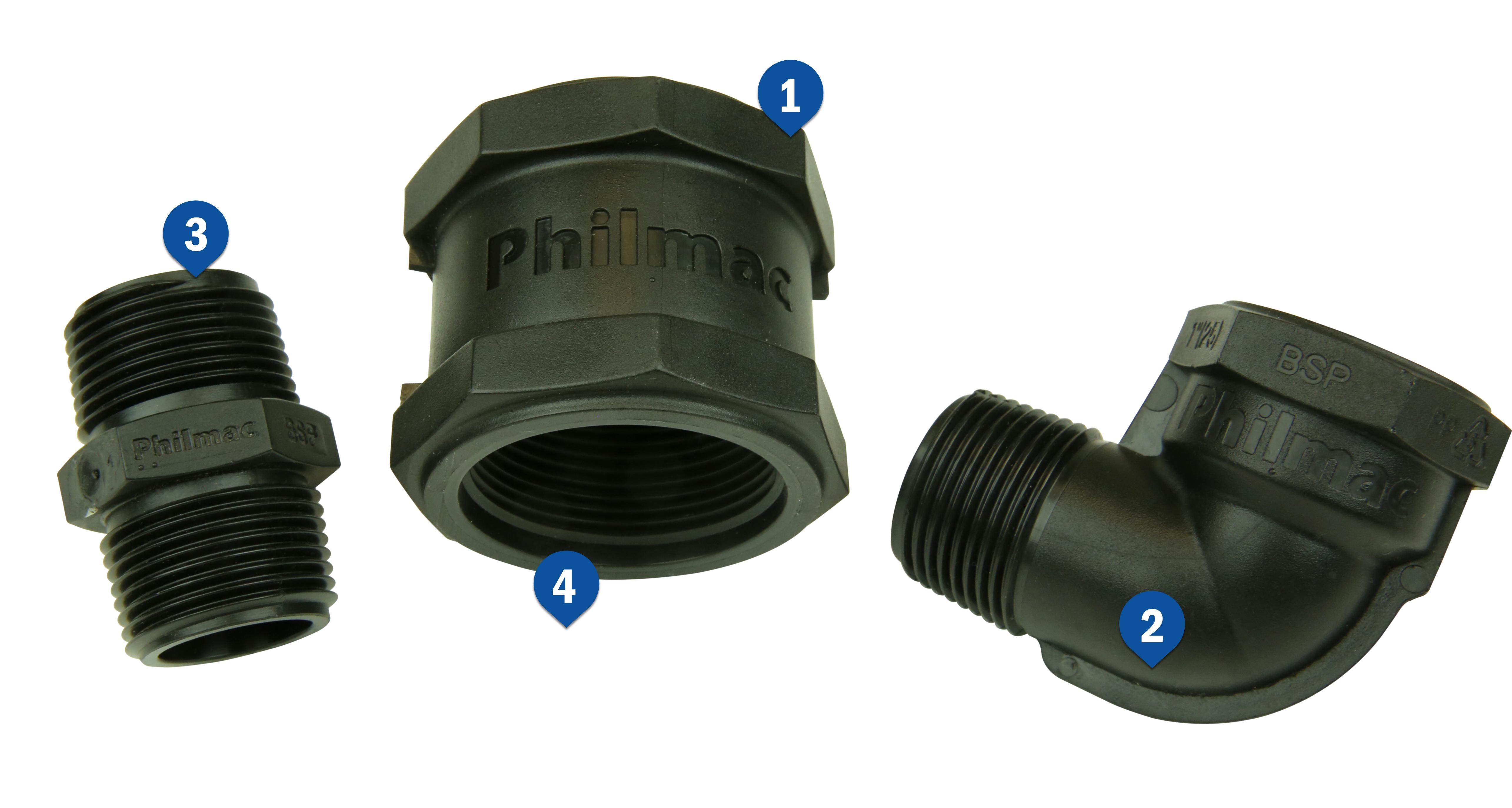 BSP Fittings  sc 1 st  Philmac & BSP Fittings | Philmac